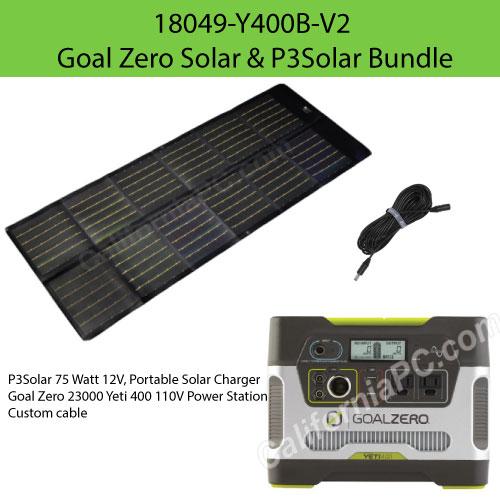 Home & Garden Powerfilm 30w Foldable Solar Panel With Goal Zero Yeti Adapter