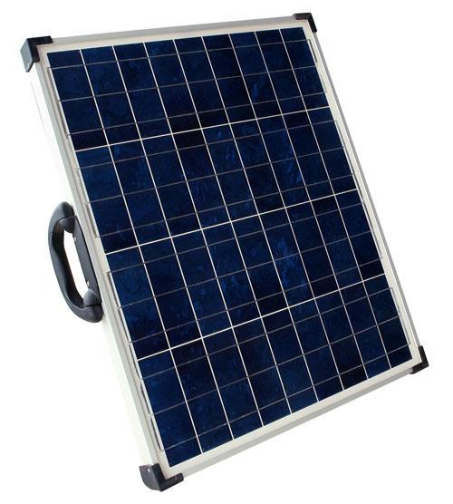 Solarland SLCK-040-12 40W 12V Portable Solar Charging Kit