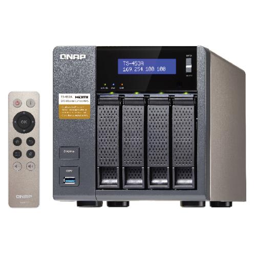 QNAP TS-453A-4G-US TS-453A 4-Bay Professional-grade NAS  Intel
